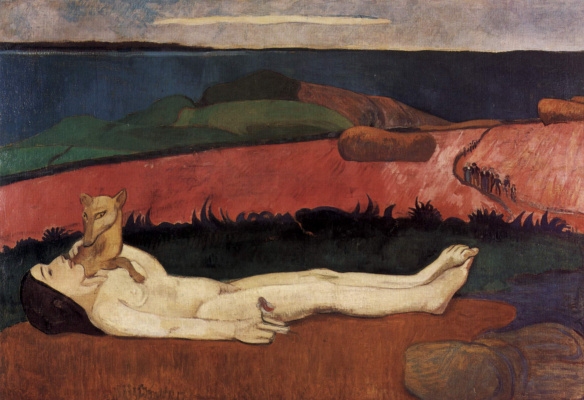 Paul Gauguin. The loss of virginity (Awakening of spring)