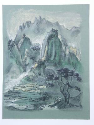 Тамара Лагунова. Зеленые горы