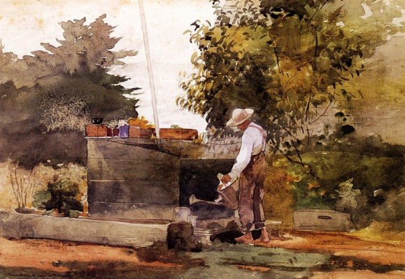 Winslow Homer. At the well