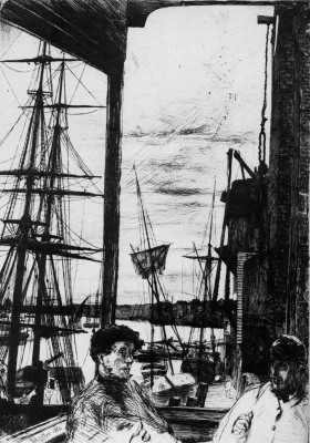 James Abbot McNeill Whistler. Rotherhithe