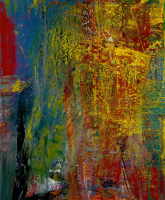 Gerhard Richter. Courbet