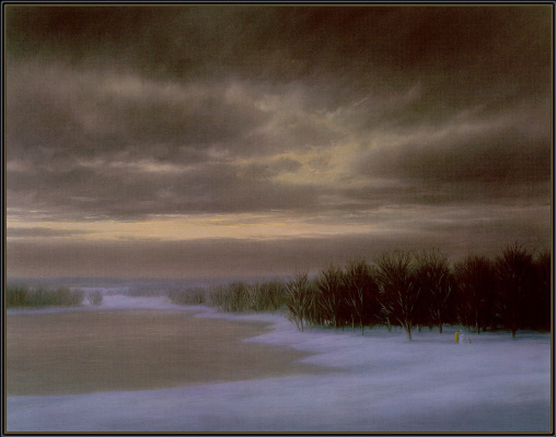 Томас Локер. Зимние облака