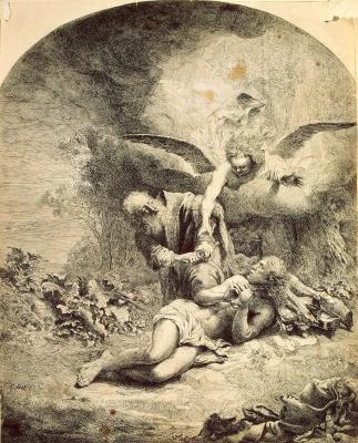 Фердинанд Балтасарс Боль. Жертвоприношение Авраама