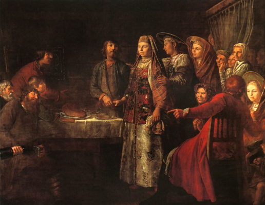 Michael Shibanov. The celebration of the wedding contract