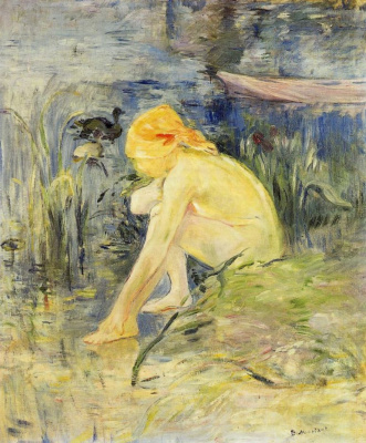Berthe Morisot. Bather