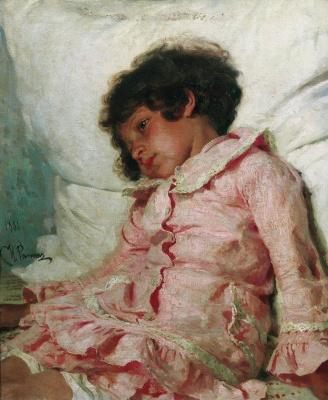 Ilya Efimovich Repin. Portrait Of Nadya Repina