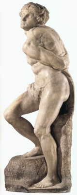 Michelangelo Buonarroti. The rebellious slave