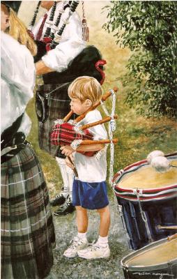 Уильям Мангам. Маленький музыкант