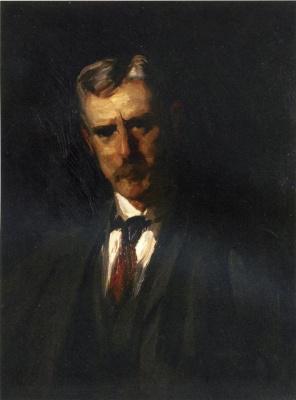 Роберт Генри. Портрет Томаса  Аншутца