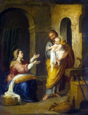 Bartolomé Esteban Murillo. Holy Family