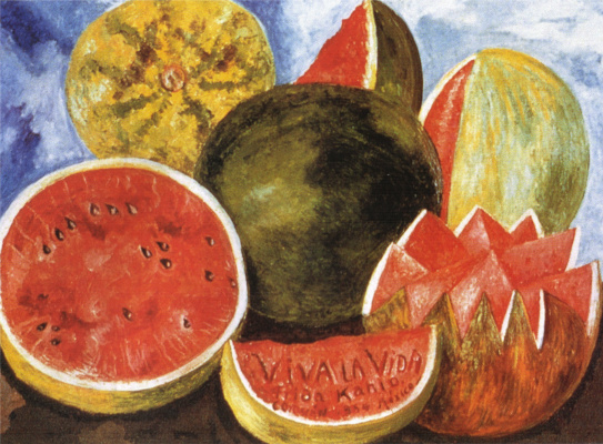 Frida Kahlo. Viva la vida! Watermelons