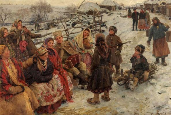 Федор Васильевич Сычков. Свободное время.  1910