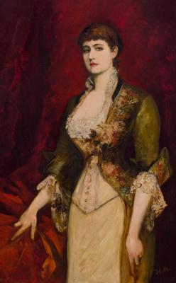 Hans Makart. Isabella Of Potocki