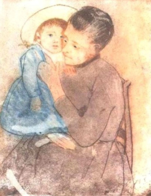 Mary Cassatt. Little Bill