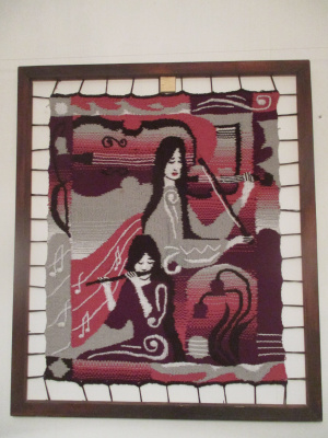 Olga Suncheleeva. Music. pink version (tapestry)