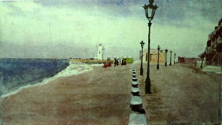 Иван Николаевич Крамской. Пляж