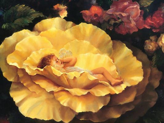 Мэри Бакстер Сентклер. Золотая фея