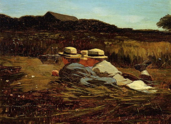 Winslow Homer. Trap for birds