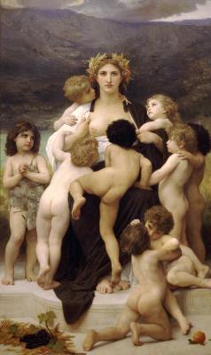 William-Adolphe Bouguereau. Alma Bruce Parens