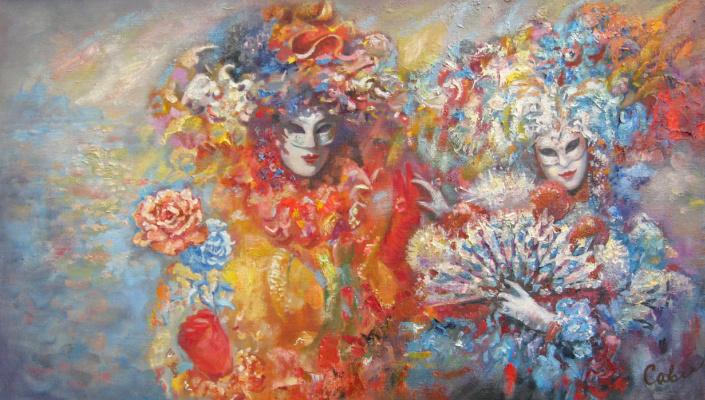Natalya Savenkova. Masks