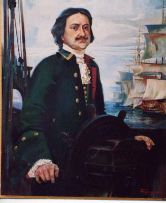 Stanislav Pavlovich Contractors. Peter 1