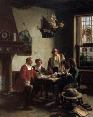 Фридрих Альберт Шредер. Игроки в нарды