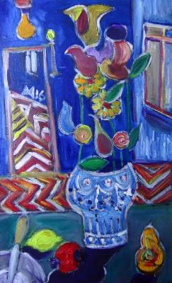 Murad Khalilov. In the blue room