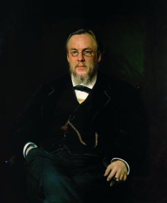 Иван Николаевич Крамской. Портрет доктора Сергея Петровича Боткина