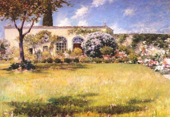 William Merritt Chase. Greenhouse
