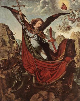 David Gerard. The Altar Of St. Michael