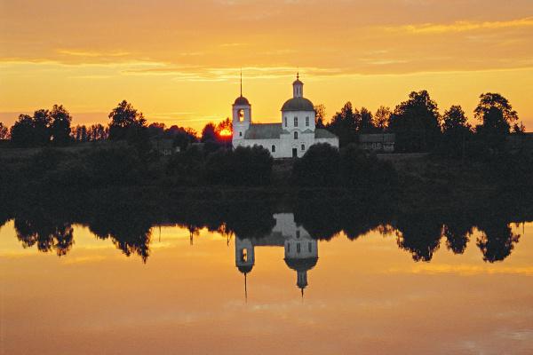 Vladimir Nikolaevich Bezgreshnov. Sunset.