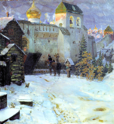 Apollinarius Mikhailovich Vasnetsov. Old Russian city