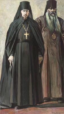 Павел Дмитриевич Корин. Иеромонах Пимен и епископ Антоний
