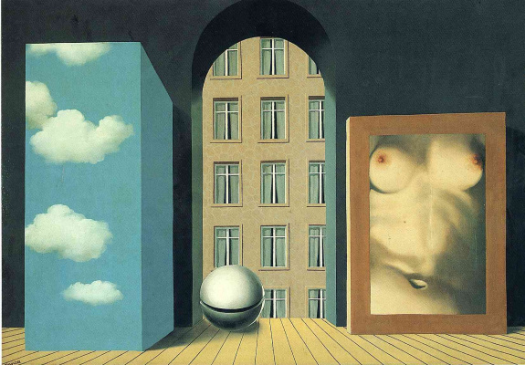 René Magritte. Act of violence