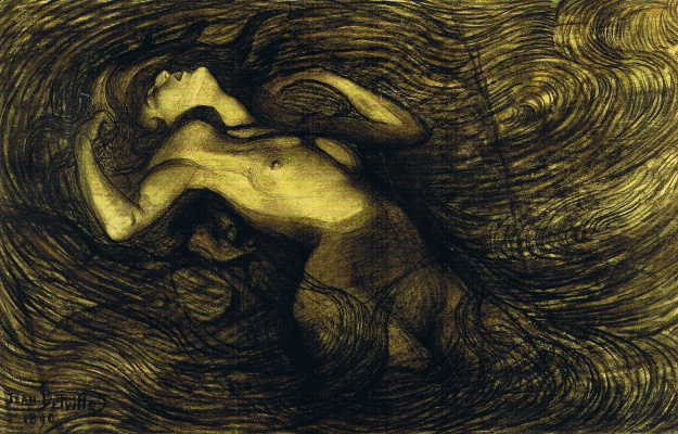 Jean Delville. The cycle of passions