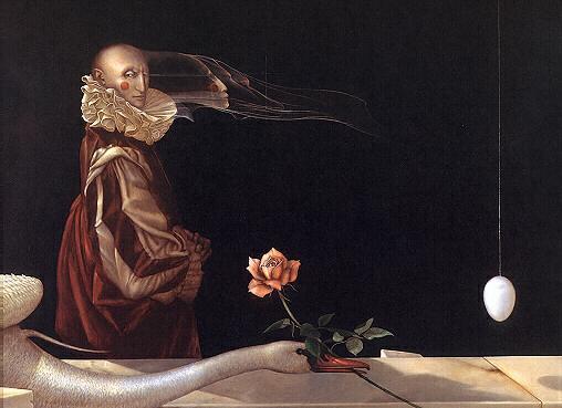 Michael Parkes. Rose