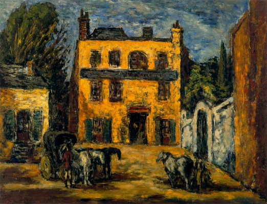 Arturo Souto. Yellow house