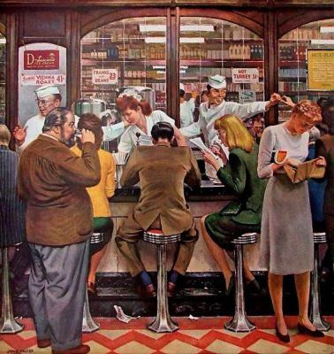 John Philip Falter. Fountain soda