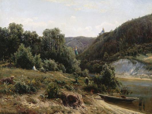 Ivan Ivanovich Shishkin. The monastery