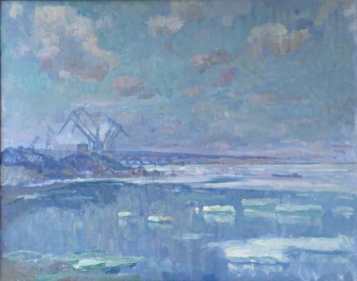 Андрей Михайлович Дубровский. Волжская синь