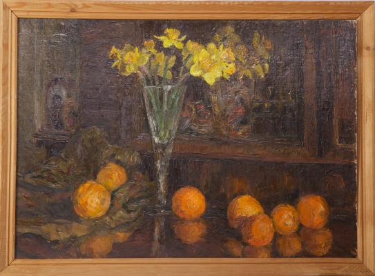 Sergey Yakovlevich Lagutin. Daffodils and oranges