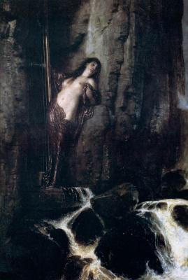 Arnold Böcklin. Breakwater (Sound)