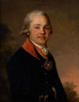 Vladimir Borovikovsky. Portrait Of A. D. Arseniev