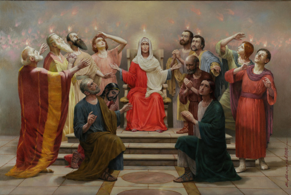 Evgeny Alfredovich Malakhov. The Descent of the Holy Spirit