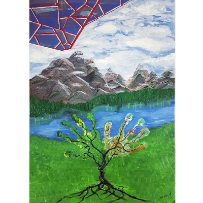 Alexandra Knabengoff. Peace tree