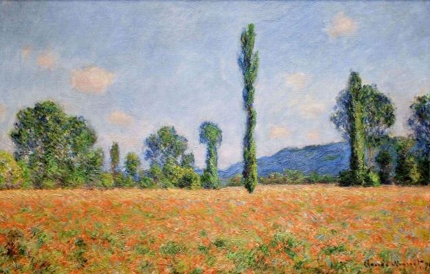 Claude Monet. Field of poppies