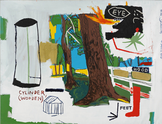 Jean-Michel Basquiat. Tree