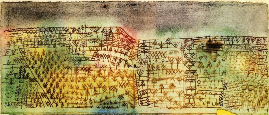 Paul Klee. Forest