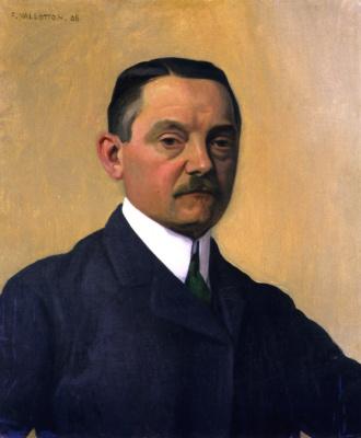 Felix Vallotton. Self-portrait