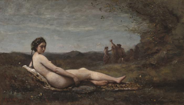 Camille Corot. Repose